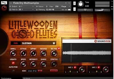 Soundiron Little Wooden Flutes es uno de los Mejores Plugins de Flauta para FL Studio