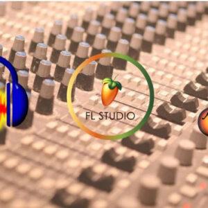 fl studio vs garageband vs audacity
