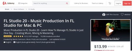 mejores cursos para aprender fl studio 20