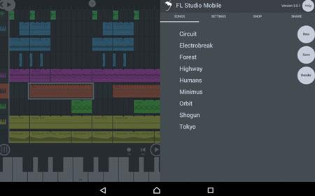 fl studio mobile para android