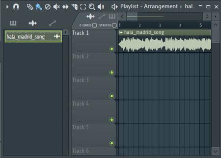 convertir audio a MIDI en FL Studio playlist