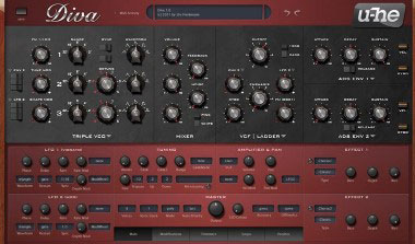 u-he diva mejores plugins vst FL Studio 20